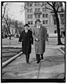 Secretary of Treasury at church services of the president. Washington, D.C., March 4. St. John's Episcopal Church was the scene today of services held in observance of President Roosevelt's LCCN2016877219.jpg