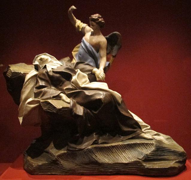 File:Seguace di bernini, estasi di santa teresa d'avila, terracotta, 1650-1710 ca..JPG