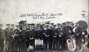 Sells Floto Circus - Image: Sells Floto Band 1915
