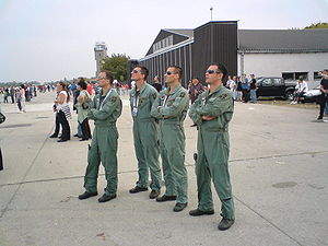252nd Training Squadron - Members of the squadron at 2009 airshow