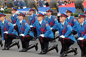 Cadet - Officer cadets of the Serbian Armed Forces