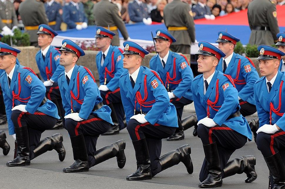 Serbian officer cadets 3
