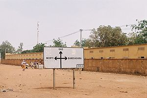 Sévaré - Image: Sevare panneau