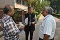 Shantanu Ganguly Discussing With Manash Bagchi And Shrikant Pathak - NCSM - Kolkata 2017-12-13 6368.JPG