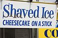 Shaved Ice, Cheesecake on a Stick.jpg