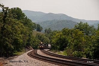 Shawsville, Virginia - Image: Shawsville, VA (5830477229)