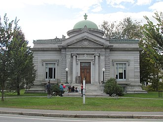 Alstead, New Hampshire - Image: Shedd Porter Memorial Library, Alstead NH