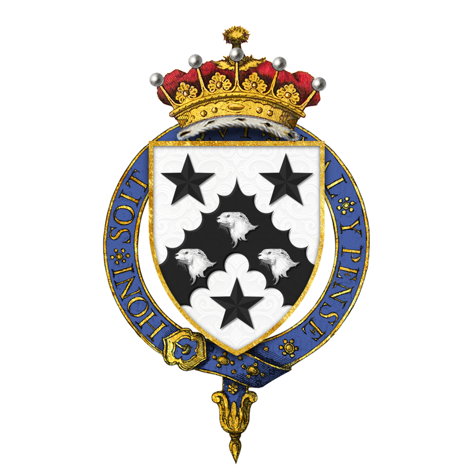 Shield of Arms of Arthur Balfour, 1st Earl of Balfour, KG, OM, PC, FRS, FBA, DL