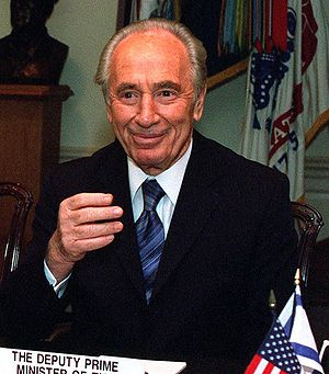 History of the Israel Defense Forces - Shimon Peres, Israeli (former) Prime Minister and Minister of Defense: Negotiated France's military and nuclear aid to Israel.