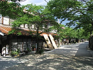 Shinjō, Okayama Village in Japan
