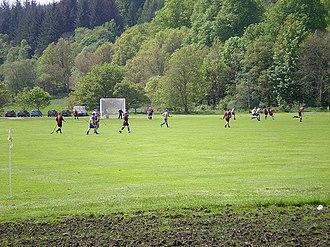 Inveraray Shinty Club - The Winterton, Inveraray Seconds Vs Lochside Rovers