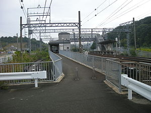Shiraki Station - Entrance (October 2008)