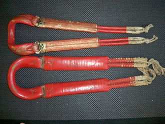 Crupper - Antique Japanese cruppers designed for saddles