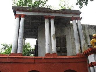 Shobhabazar Rajbari - The Nat Mandap.