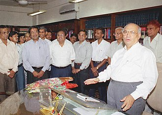 H. R. Bhardwaj - Shri H. R. Bhardwaj assumes the charge of Union Minister of Law and Justice in New Delhi on May 24, 2004