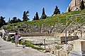 Sideview of the Theatre of Dionysus on March 12, 2020.jpg