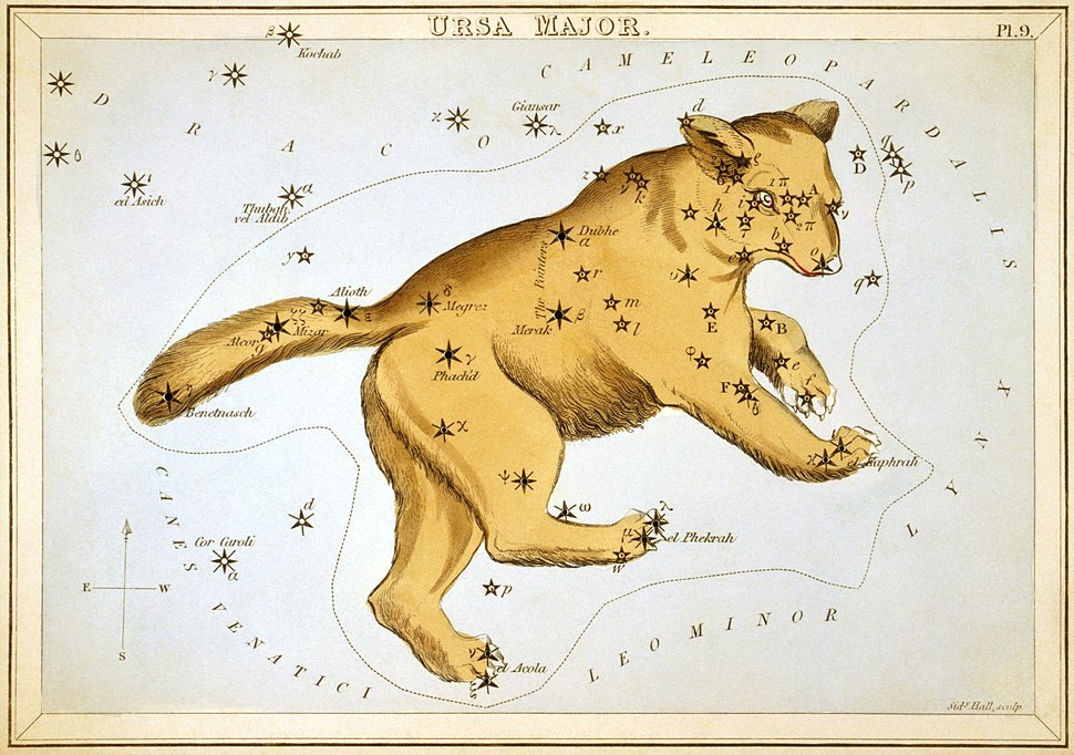 Sidney Hall - Urania%27s Mirror - Ursa Major