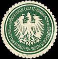 Siegelmarke Der Civil - Vorsitzende der Königlichen Ersatz - Kommission des Stadtkreises Altona W0215175.jpg