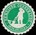 Siegelmarke Gemeinde Cossebaude W0354641.jpg