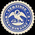 Siegelmarke Gemeinde Wünschendorf W0211920.jpg