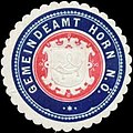 Siegelmarke Gemeindeamt Horn Nieder-Österreich W0334373.jpg