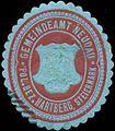 Siegelmarke Gemeindeamt Neudau pol. Bezirk Hartberg, Steiermark W0319651.jpg