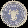 Siegelmarke Gr. Meckl. Amtsanwalt Stavenhagen W0360840.jpg