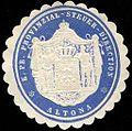 Siegelmarke Königlich Preussische Provinzial - Steuer - Direction - Altona W0234749.jpg