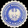 Siegelmarke Königliche Eisenbahn Maschineninspection in Hameln W0217170.jpg