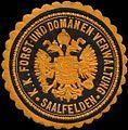 Siegelmarke K.K. Forst- und Domänen-Verwaltung Saalfelden W0317021.jpg
