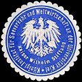Siegelmarke K. Institut für Seeverkehr und Weltwirtschaft an der Universität Kiel - Kaiser Wilhelm Stiftung W0219513.jpg