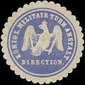 Siegelmarke K. Militair-Turn-Anstalt Direction W0351890.jpg