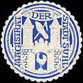 Siegelmarke Magistrat der Stadt Suhl W0226393.jpg