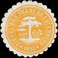 Siegelmarke Siegel der Stadt Oranienburg W0343973.jpg