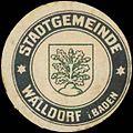Siegelmarke Stadtgemeinde Walldorf in Baden W0393744.jpg