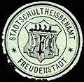 Siegelmarke Stadtschultheissenamt - Freudenstadt W0227998.jpg