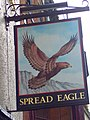 Sign for the Spread Eagle - geograph.org.uk - 517603.jpg