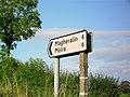 Signpost, Kilntown Road, Dromore - geograph.org.uk - 1457155.jpg
