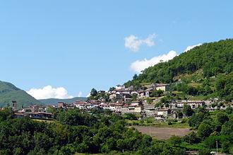 Sillano - Panorama of Sillano