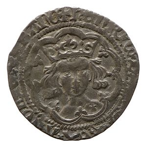 Henry V of England - Silver groat of Henry V, York Museums Trust