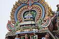 Singapore. Sri Mariamman. Gopuram. South West-8.JPG