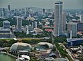 Singapore Esplanade - Theatres by the Bay viewed from Marina Bay Sands 1.jpg