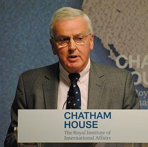 John Holmes (British diplomat) - Holmes at Chatham House in 2016