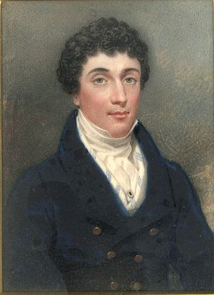 Sir Thomas White, 2nd Baronet - Sir Thomas Woollaston White, 2nd Baronet as a young man.