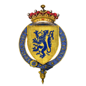 Thomas Percy, 1st Earl of Worcester - Arms of Sir Thomas Percy, 1st Earl of Worcester, KG