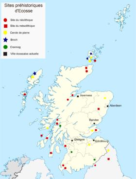 Préhistoire de l'Écosse — Wikipédia