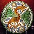 Siviglia, piatto con decorazione 'acuerda seca', 1500 ca. 02.JPG