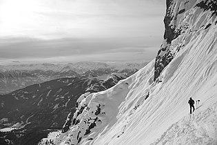Ski mountaineering Hochkönig Austria.JPG