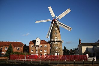 Maud Foster Windmill - Maud Foster Mill, January 2008