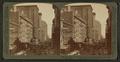 Sky-scrapers of steel and stone, Randolph Street, Chicago. Eastward Lake Street, by Underwood & Underwood.png